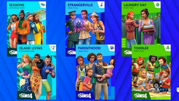 The Sims 4 new box arts