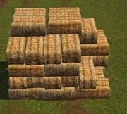 235px-Stacked Hay Bales