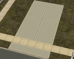 Driveway Concrete - concrete