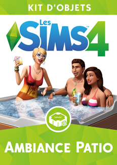 Packshot Les Sims 4 Ambiance Patio