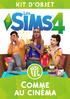 Packshot Les Sims 4 Comme au cinéma