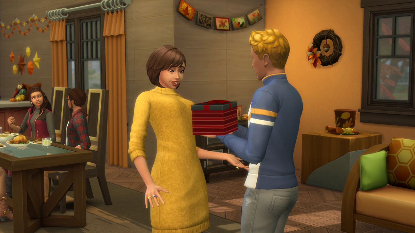 Sims 4 Christmas Poses.Gift Giving The Sims Wiki Fandom Powered By Wikia