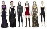 TS4 - Velvela Schweiger - Outfits