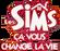Logo Les Sims Ca vous change la vie