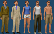 Simis Bachelor ts3 wardrobe