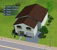 Sims 3 - Marvin Madison's house - Front