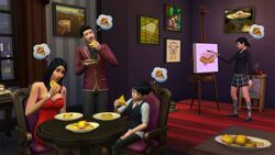 TS4 Grilled Cheese aspiration promo