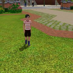 Homero en el parque