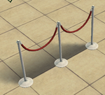 Ts2 relvet vope fence