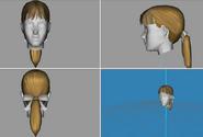 (TS2 Remake) Milkshape 3D Ponytail Long Bow