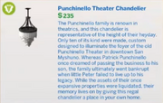 Punchinello Theater Chandelier