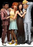 Render Les Sims 4 Soirées de Luxe 2