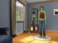 Et eksempel på Ingvild i The Sims 3.