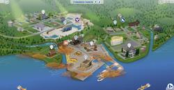 Evergreen Harbor Map