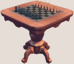 Grand Plans Chess Table