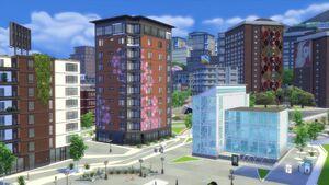 Sanmyshunoartsquarter Apartment Buildings