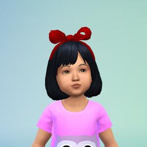 Audrey black toddler