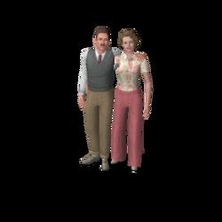 Famille Lethébain (Les Sims 3)