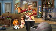 Les Sims 4 Mise à jour Nounou