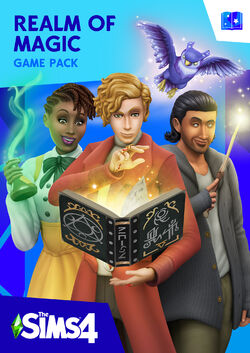 The Sims 4 Realm of Magic boxart