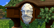 Whispering Wishing Well Happy Face