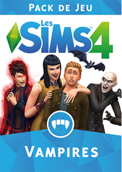 Packshot Les Sims 4 Vampires