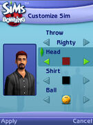 The Sims Bowling 01