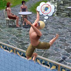 El payaso tragico en la Mansión Lápida, se da clara la pista de su muerte