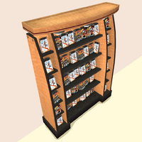 Enterprice Office Freestanding Game Rack