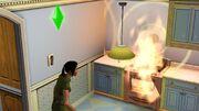 Incendie (Les Sims 3)
