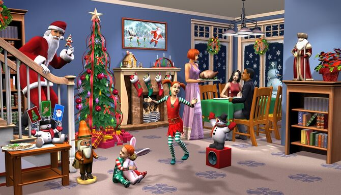 The Sims 2 Happy Holiday Stuff