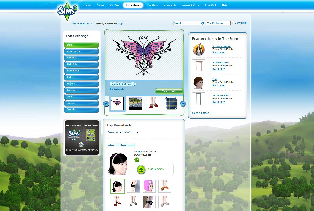 The Exchange | The Sims Wiki | FANDOM powered by Wikia