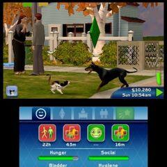 Imagen del juego de la versión para Nintendo 3DS