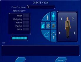 Créer un Sim - Les Sims 1
