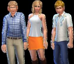 Famille Plènozas (Les Sims 4)