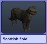 Scottish Fold (Sims 2)