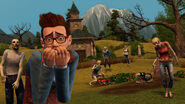 TS3 supernatural zombie attack