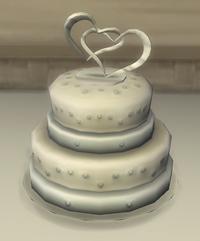 TS4 Wedding Cake
