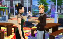 Персонаж торгуется с другим персонажем