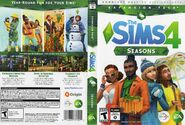 TS4 Seasons Box Art