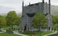 The Sims 3 - University Life - Thomas School of Art