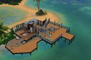 Коралловый особняк (1 этаж)