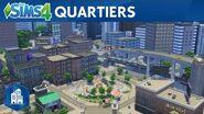 Les Sims 4 Vie Citadine - Les quartiers de San Myshuno