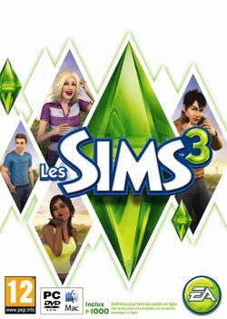 Packshot Les Sims 3 (V2)