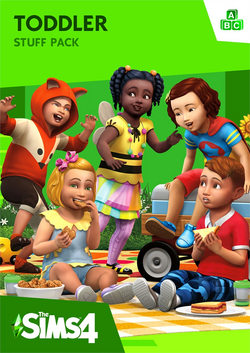 The Sims 4 Toddler Stuff Cover