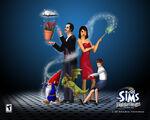 The sims makin magic wallpaper 1280x1024
