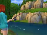 Рыбная ловля (The Sims 4)