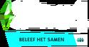 De Sims 4 Beleef het Samen Logo V2