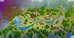 Glimmerbrook kaart