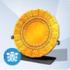 Plato Calendario Oro